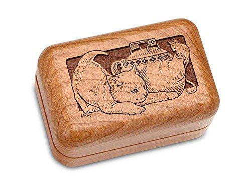 Hinged Box 3x2 - Cat Teapot