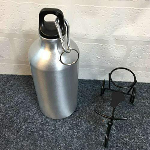 GrmeisLemc Stainless Steel Water Bottle Outdoor Running Camping Travel Single Layer Sport Kettle Cup Jug Drinkware - 750ml