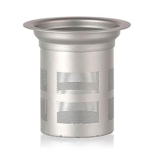 Lixada Titanium Mesh Tea Infuser Basket for Teapot Tea Kettle Cup
