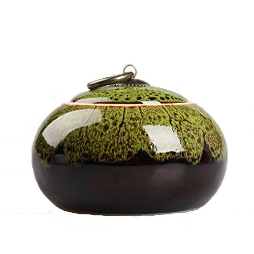 Ceramic tea caddy tins tea caddie tea set tea jar tea storage container Multi colored porcelain green