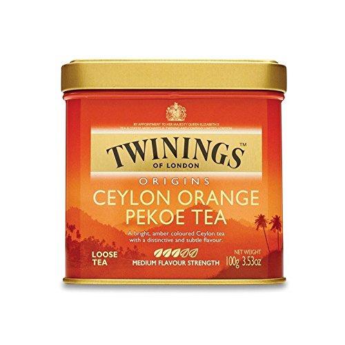 Twinings Ceylon Orange Pekoe Loose Tea Caddy International Blend - 100g