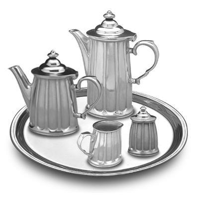 Wilton Armetale Tiburon Coffee Tea Service Set