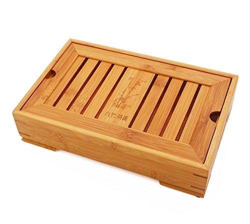 Vegali ChineseJapanese Kungfu Tea Set Bamboo Portable Travel TeatrayXT1 Wood