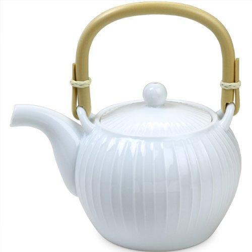 Hakusan pottery porcelain teapot stand muscle 650ml japan import