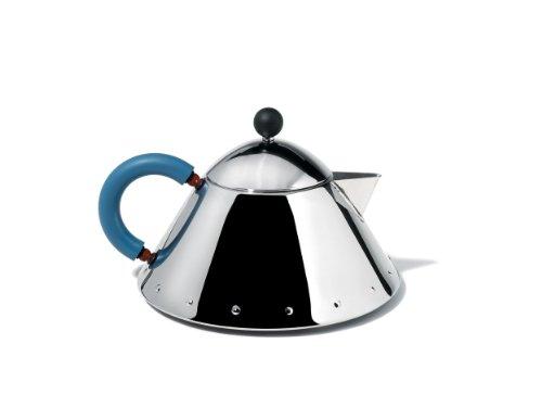 Alessi MG33 Decorative Teapot Silver