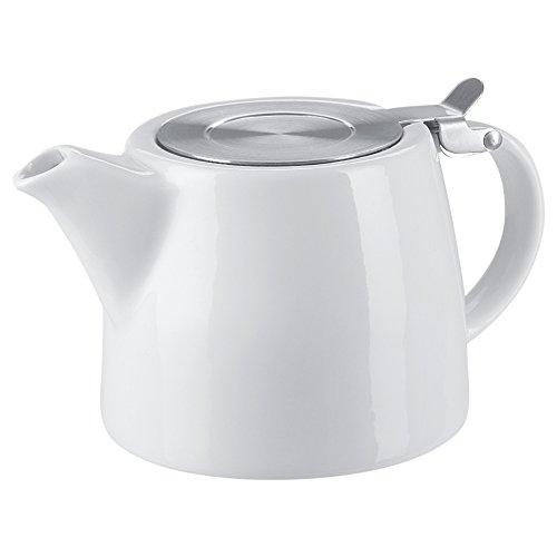 Benail 18 oz Tea pot with infuser and SLS lid White