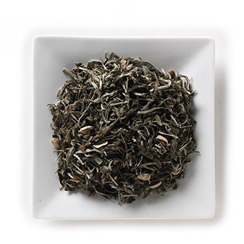 Mahamosa Flavored White Tea and Tea Filter Set 4 oz Chai White Tea 100 Loose Leaf Tea Filters Bundle- 2 items