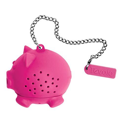 Tovolo Tea Ball Loose Leaf Strainer Cup Mug Infuser Dishwasher Safe Pig