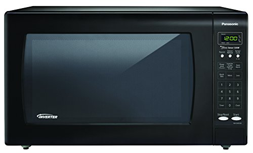 Panasonic Nn-sn933b Black 1250w 2.2 Cu. Ft. Countertop Microwave Oven With Inverter Technology