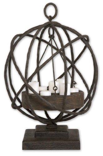Uttermost 17059 Sammy Wooden Candleholder