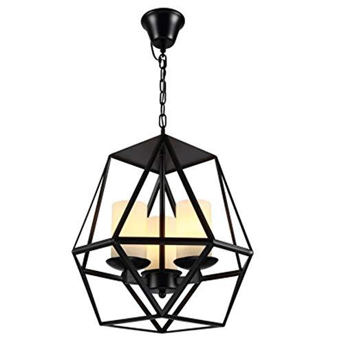 Chandelier Wrought Iron Candlestick Droplight Industry Light for Bar Cafe Restaurant Ceiling Light LPLHJD