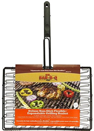 Mr Bar B Q 06601X Deluxe Non-Stick Flexible Grilling Basket