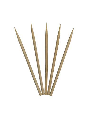 KingSeal Natural Bamboo Wood Meat Skewers Kebab Sticks - 45 Inches 35mm Diameter 1000 Count
