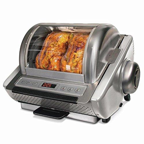 Ronco St5250ssgen Ez Store Stainless Steel Rotisserie Oven, Silver