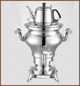 Electric Stainless Steel Samovar Tea Maker