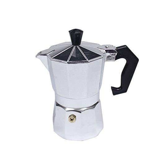 Stovetop Expresso Coffee Latte Maker Percolator Moka POT Gasket-3 Cup 150 ml