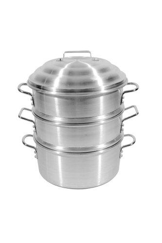 Town Food Service 18 Inch Aluminum Steamer Set