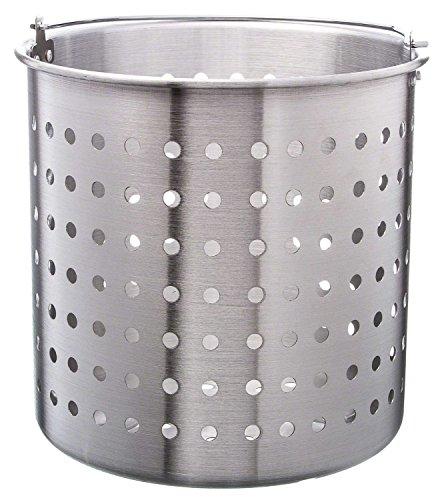 Update International ABSK-40 40 Qt Aluminum Steamer Basket