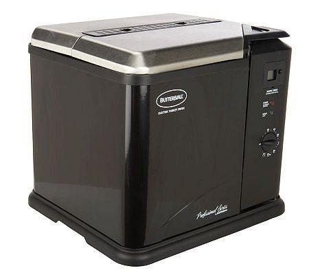 Butterball 23011611 Indoor Electric Turkey Fryer Black