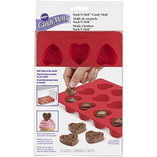 Wilton Mini Hearts Silicone Mold 12-Cavity - Heart Shaped Mold