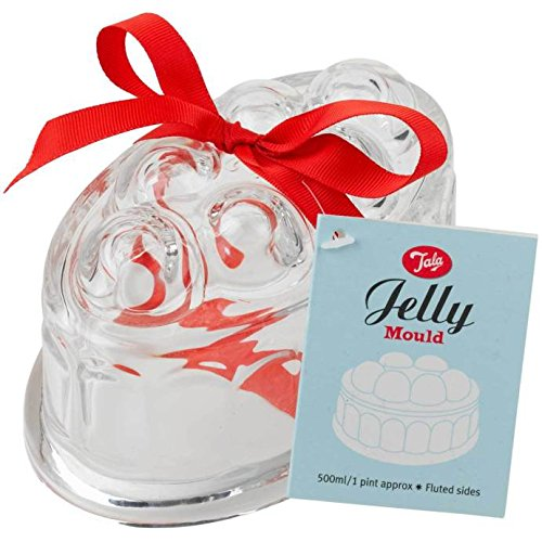 Tala Vintage Oval Glass Jelly Mold Clear