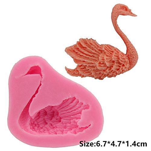 Animals Swan Silicone Cake Mould Fondant Sugar Craft Chocolate Decorating Tool