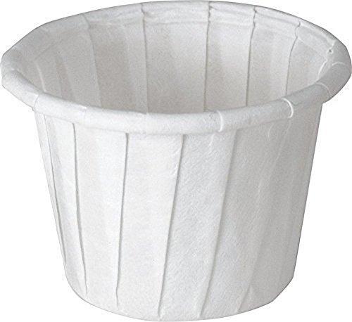 SOLO 075-2050 Paper Medicine Cups 34 oz 500 Box