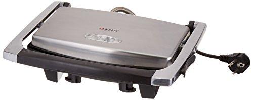 Alpina SF-6022 Panini Sandwich Grill Silver