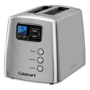 Cuisinart CPT-420C 2-Slice Touch To Toast Leverless Toaster