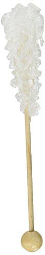 White Rock Candy Demitasse Sticks - 100 Count 21oz