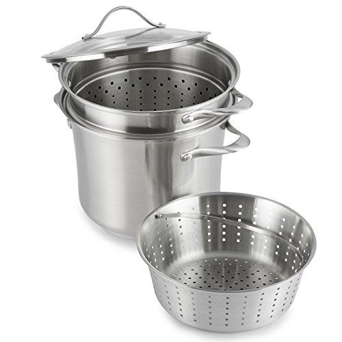 Calphalon Contemporary Stainless Steel CookwareMulti-Pot 8 quart