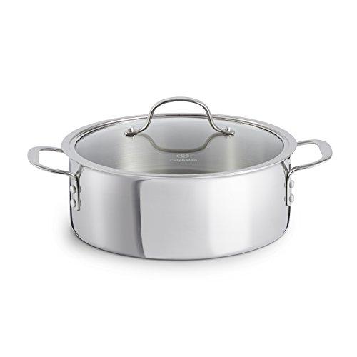Calphalon Tri-Ply Stainless Steel Cookware Dutch Oven 5-quart