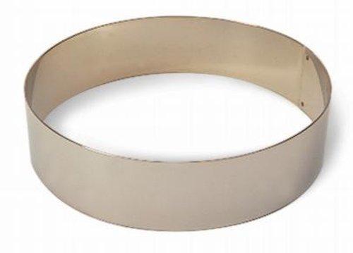 Matfer Bourgeat 371807 Ice Cake Ring Silver