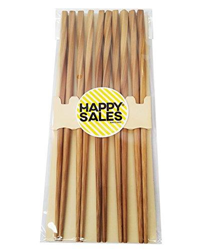 Happy Sales HSCH24S 5 pairs Japanese chopsticks gift sets Twist