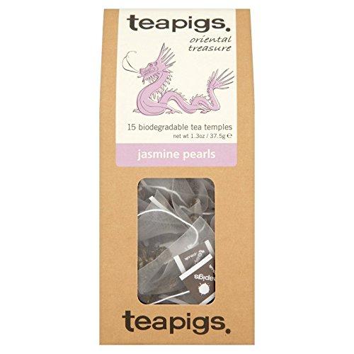 teapigs Jasmine Pearls Tea 15 Count