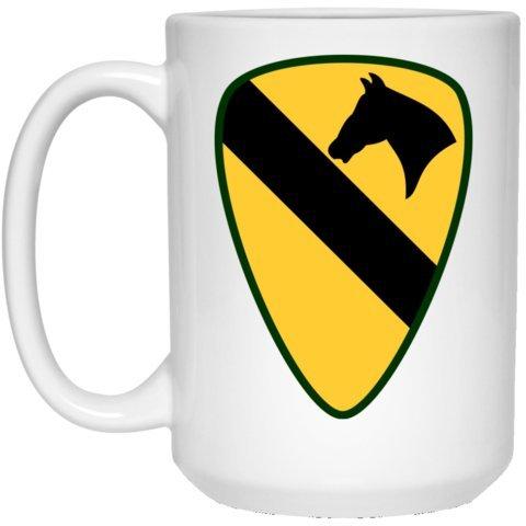1st Calvary Division United States Military Coffee or Tea Mug 15 oz White