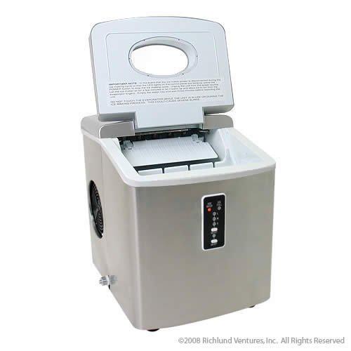 Edgestar Ip210ss1 Portable Ice Maker, Stainless Steel/silver