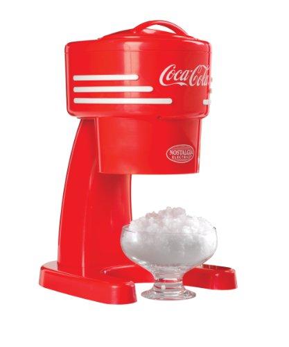 Nostalgia Rism900coke Limited Edition Coca-cola Electric Shaved Ice & Snow Cone Machine