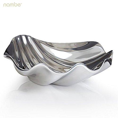 Nambe Oceana Sea Shell Low Bowl