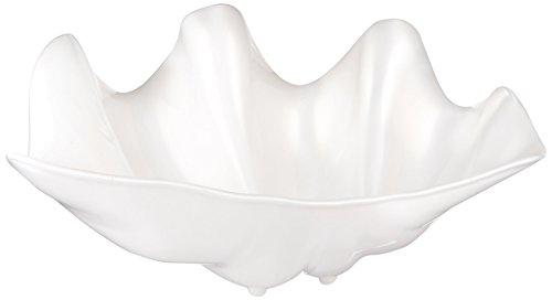 Winco PSBW-5W Shell Bowls 5-Quart Pearl