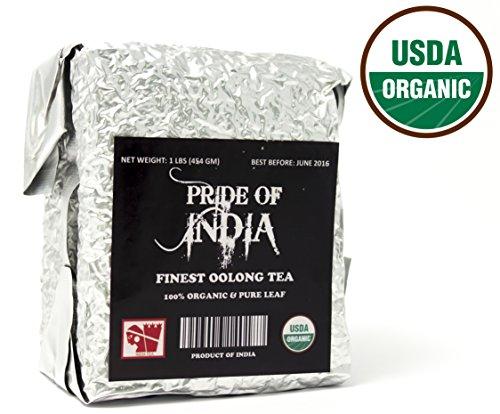 Pride Of India - Organic Oolong Tea Half Pound Leaf Tea REGULAR PRICE 1499 SALE PRICE 1299