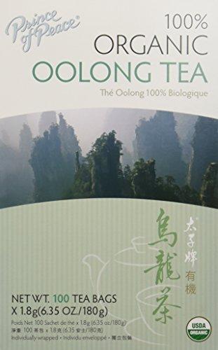 Prince of Peace Organic Oolong Tea - 100 Tea Bags Pack of 3