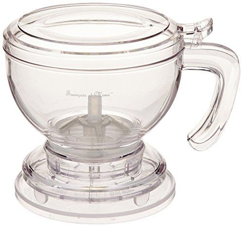 Francois et Mimi Bottom-Dispensing Perfect Tea Maker Tea Brewer 16oz Shatter-proof Acrylic Infuser Teapot