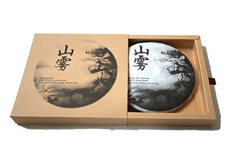 2007 Organic Fermented Pu Erh Tea from Yunnan fairly traded natural flavor AAAAA grade traditional cake 357g