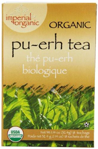 Imperial Organic Tea Pu-Erh 18 Tea Bags114 Ounce