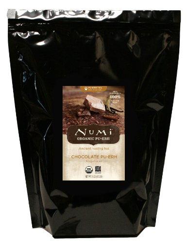 Numi Organic Tea Chocolate Pu-erh Tea Loose Leaf Tea 16 Ounce Bulk Pouch