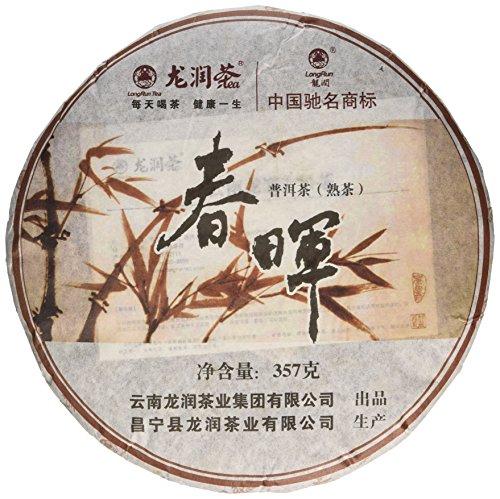 Yunnan Longrun Pu-erh Tea Cake-Chunhui Year 2011 Fermented357g