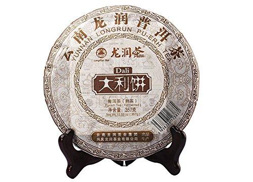 Yunnan Longrun Pu-erh Tea Cake -DaliYear 2010Fermented 357g