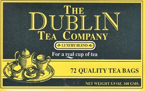 The Dublin Tea Company Luxury Blend - 72 Tea Bags