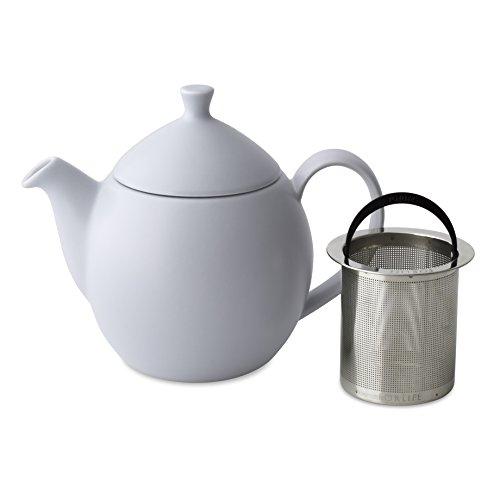 FORLIFE Dew Teapot with Basket Infuser Lavender Mist 14 oz414ml